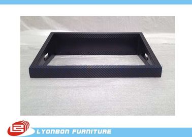 MDF Custom Wood Display Stand Accessory Melamine Finished Wood Brand SGS